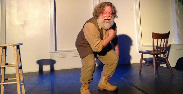 Robert Michael Oliver in Song of Myself: The WHITMAN Project. Photo credit: Anne Pellicciotto